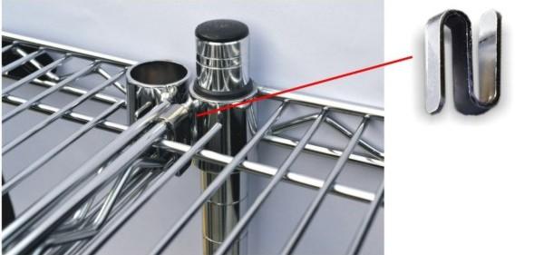 Iteco carrelli e scaffali in filo for Scaffalature metalliche ikea